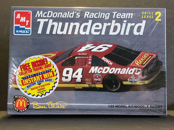 1/25 AMT/ERTL McDonald's #94 Bill Elliott 1995 Ford Thunderbird