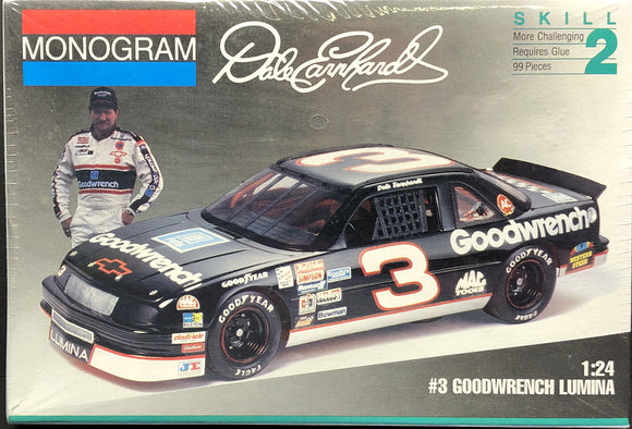 1/24 Monogram #3 Dale Ernhardt 1993 Goodwrench Lumina