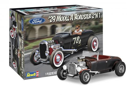 1/25 Revell 1929 Model A Roadster 2'n1 Hot Rod