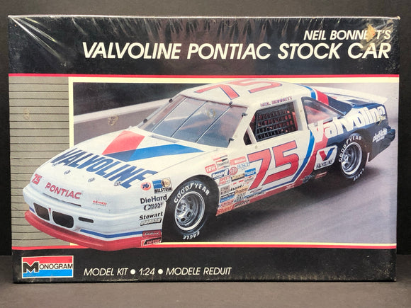 1/24 Monogram Neil Bonnet #75 Valvoline 1989 Grand Prix 2787