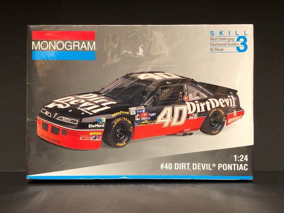 1/24 Monogram Kenny Wallace #40 Dirt Devil Pontiac