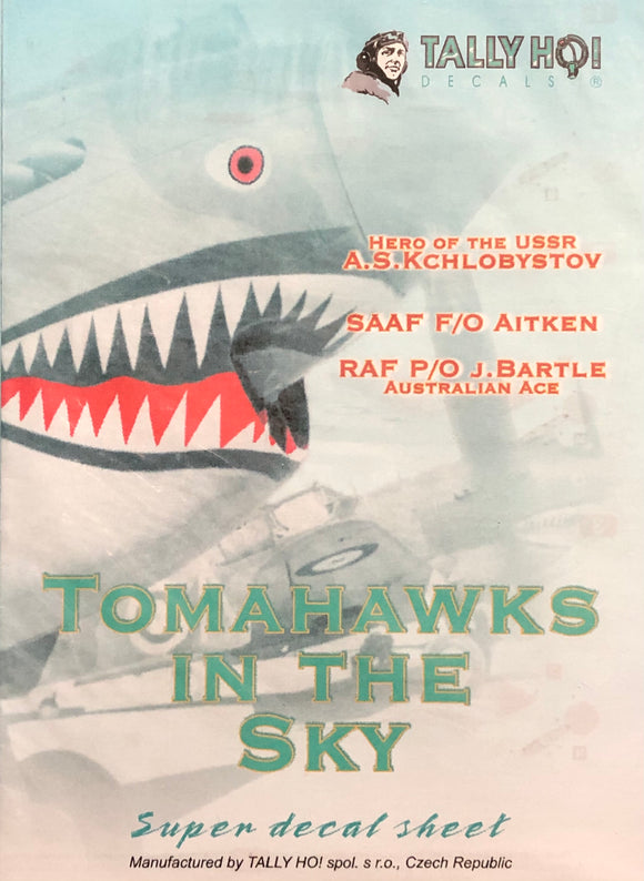 1/32 Tally Ho Decals Tomahawks in the Sky 32-007