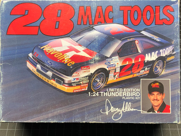 1/24 Monogram #28 Davie Allison MAC TOOLS 1993 Ford Thunderbird