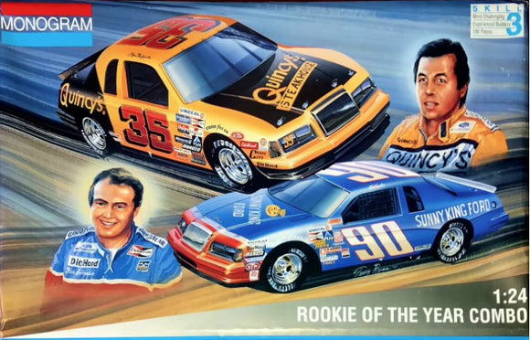 1/24 Monogram Rookie Of The Year Combo #35 Alan Kulwicki / #90 Ken Schrader
