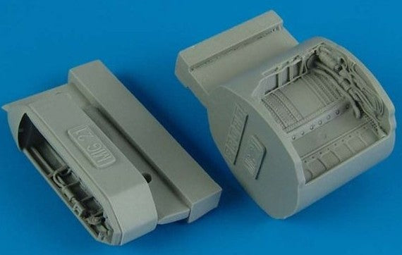 1/48 MiG21 Wheel Bay For EDU