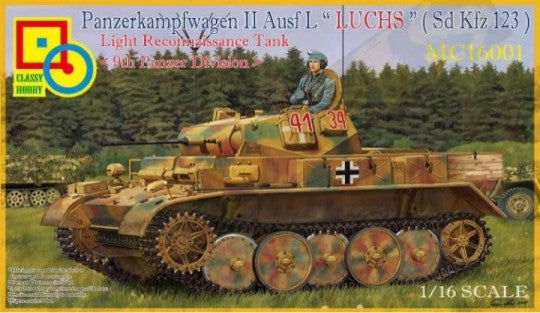 1/16 Classy Hobby PzKpfw. II Ausf. L Luchs 9th Panzer Division