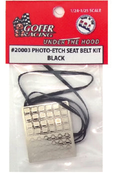 1/24-1/25 Photo-Etch Seatbelt (pick your color)