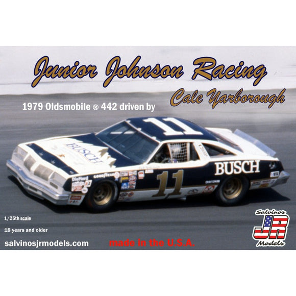 1/24 Salvinos JUNIOR JOHNSON RACING BUSCH 1979 OLDSMOBILE 442