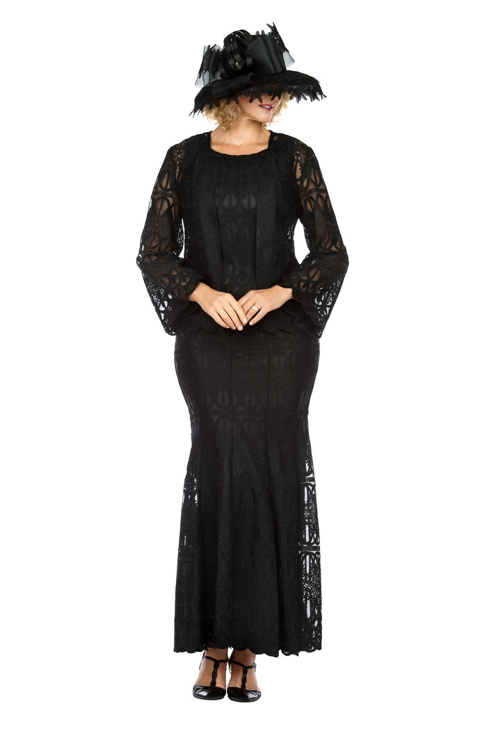 Giovanna 3 Piece Lace Skirt Suit 0946 Sizes 10-26W