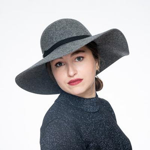 Swinger Wool Felt Hat With Pin 400808