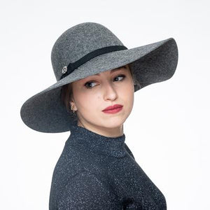 Women's Hat, Church Hat, Wool Felt Hat