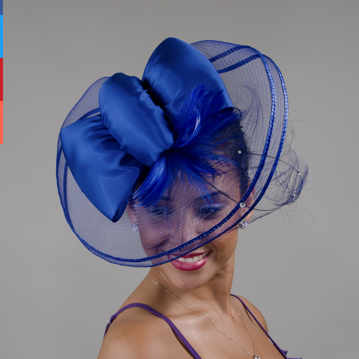 Comb Fascinator 5629 Royal