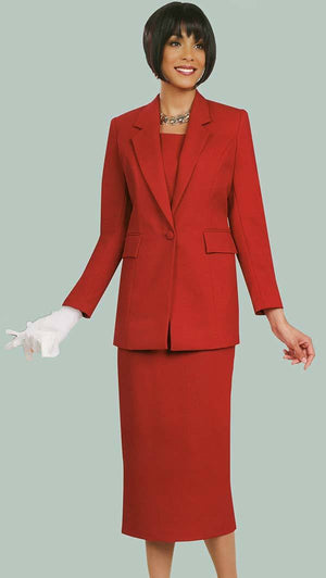 benmarc, 2295, red usher suit