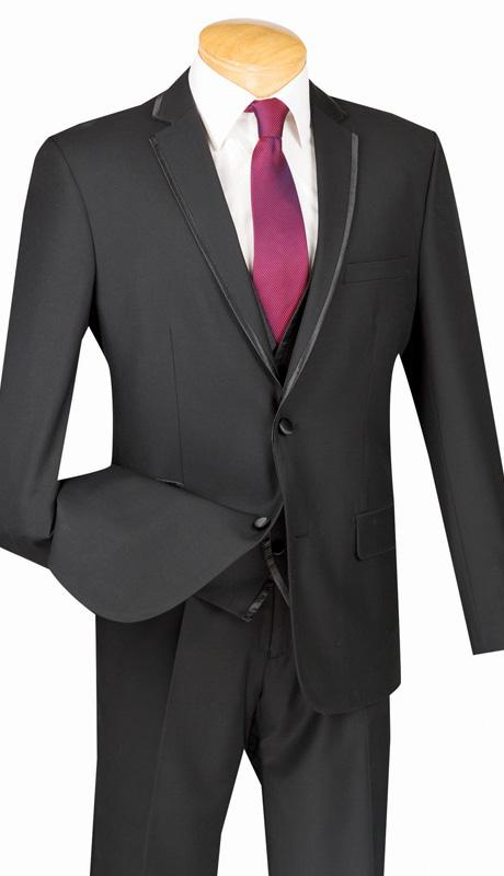 Vinci Men's Suit 3-Piece SVT2 Sizes 34-48