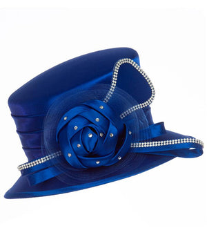 giovanna, hm974, royal blue hat