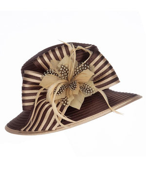 giovanna, hr1059, brown-champagne hat