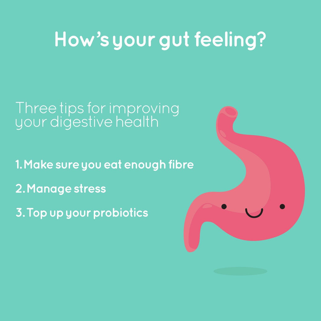 How's Your Gut Feeling? Three Top Tips For Improving Your Digestive Health