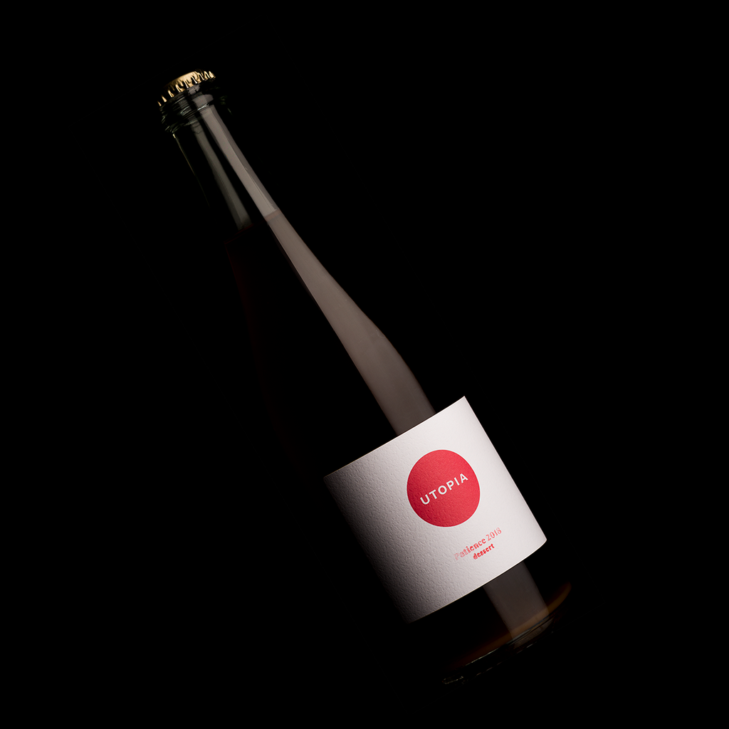 utopia patience dessert ice cider bottle