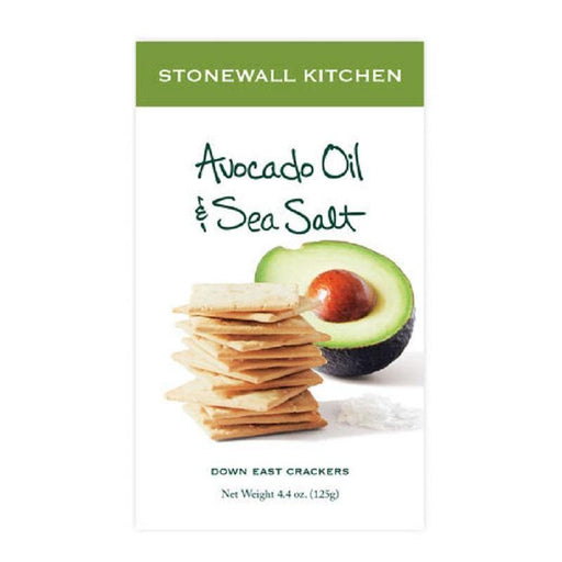 Avocado Oil & Sea Salt Crackers - Faraday's Kitchen Store