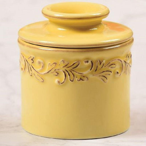 Butter Bell Crock Antique Goldenrod - Faraday's Kitchen Store