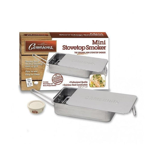 Cameron's Gourmet Edition Stovetop Mini Smoker - Faraday's Kitchen Store