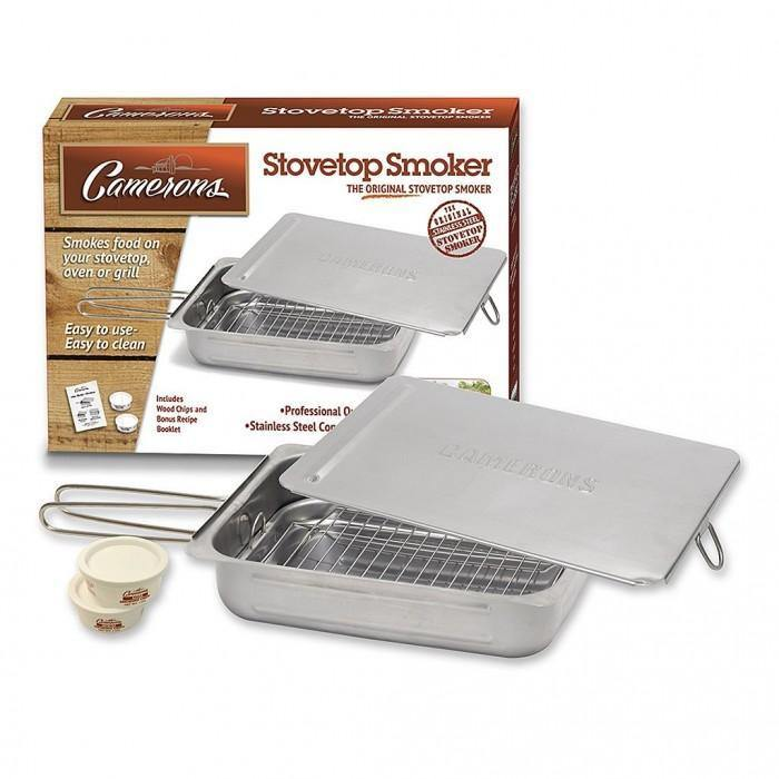 Cameron's Gourmet Edition Stovetop Smoker - Faraday's Kitchen Store