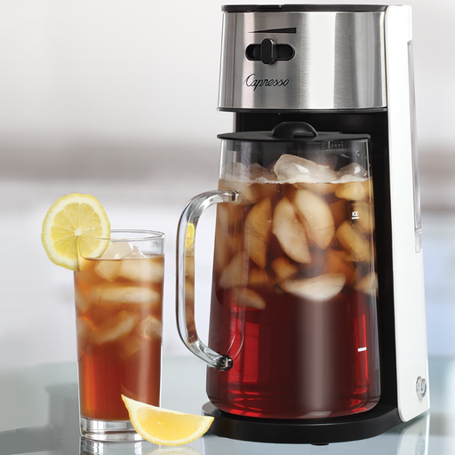 Capresso Iced Tea Maker with 80-oz. Carafe - Faraday's Kitchen Store