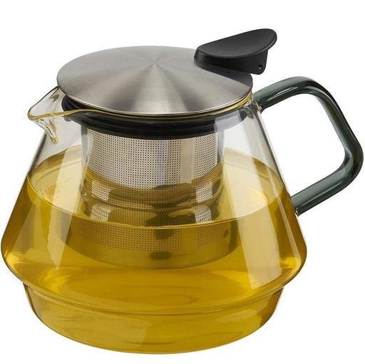 CasaWare 24-oz Double Wall Glass Teapot - Faraday's Kitchen Store