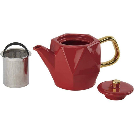 CasaWare Hex Teapot - Faraday's Kitchen Store