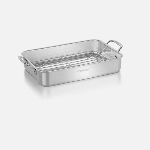 "Cuisinart 14"" Stainless Steel Lasagna/Roasting Pan - Faraday's Kitchen Store"