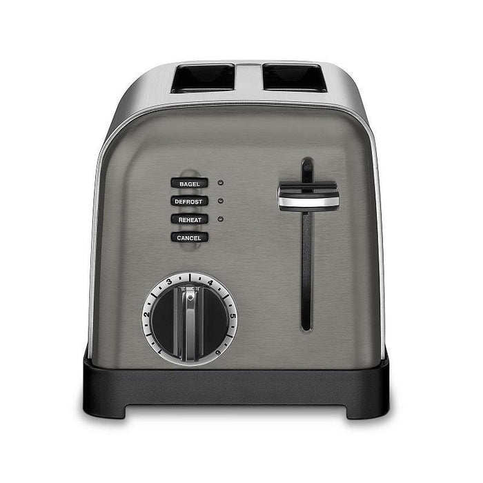 Cuisinart 2-Slice Compact Metal Toaster - Faraday's Kitchen Store