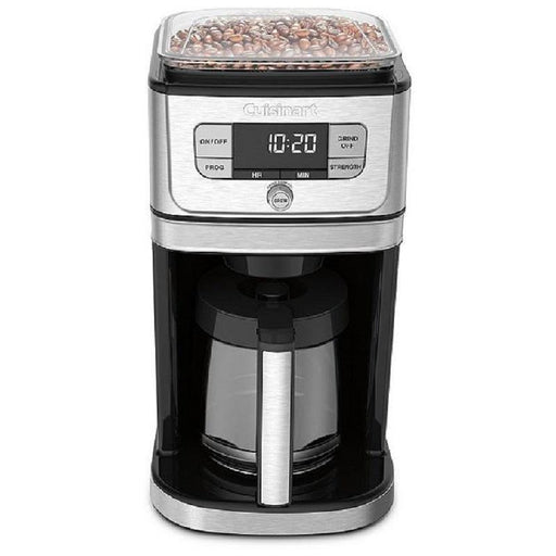 Cuisinart Grinding 12-Cup Coffee Maker with Glass Carafe - Faraday's Kitchen Store