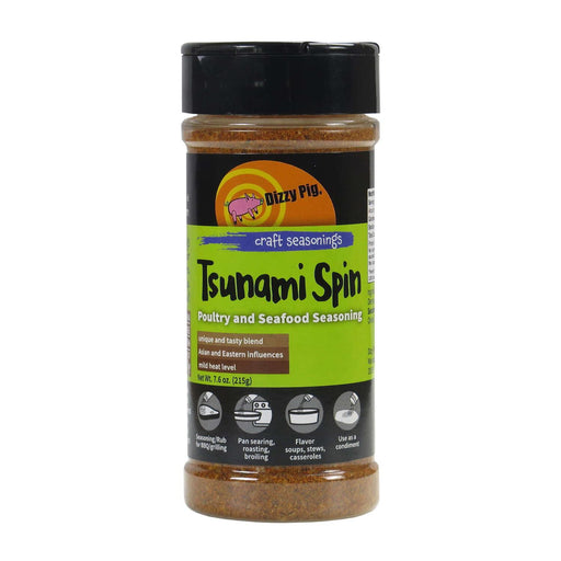 Dizzy Pig Tsunami Spin Seasoning - Faraday's Kitchen Store