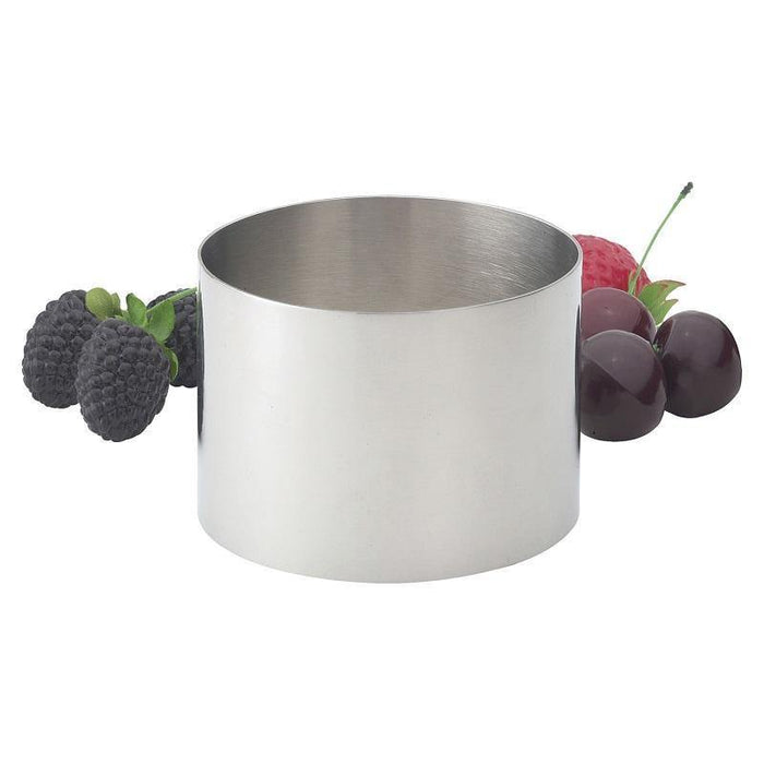 "HIC Stainless Steel 3"" Food Ring - Faraday's Kitchen Store"