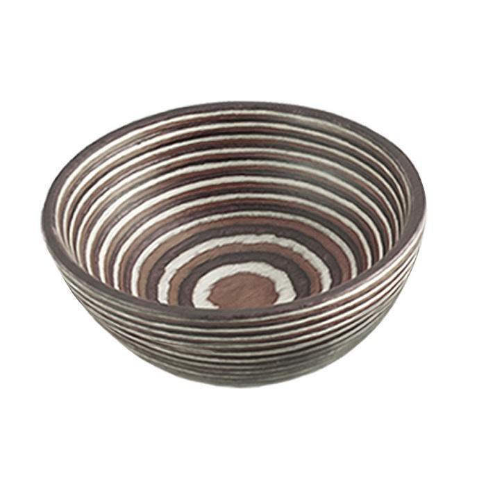 Island Bamboo Natural Pakkawood Pinch Bowl - Faraday's Kitchen Store