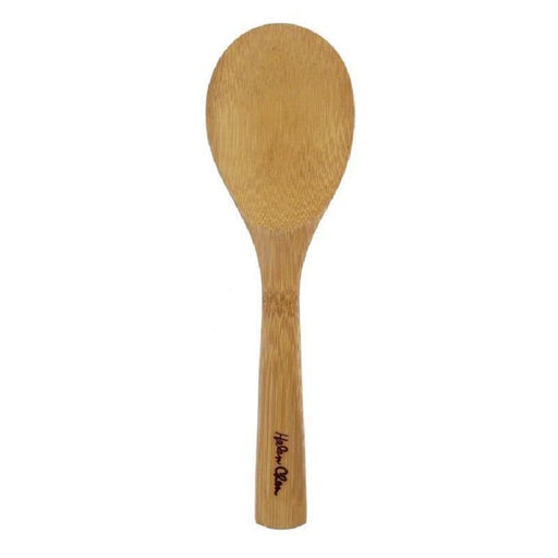 Natural Bamboo Rice Paddle - Faraday's Kitchen Store