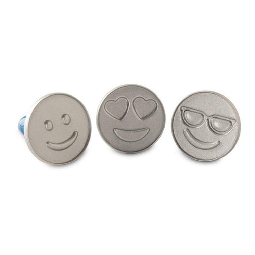 Nordic Ware Emoji Cookie Stamps - Faraday's Kitchen Store