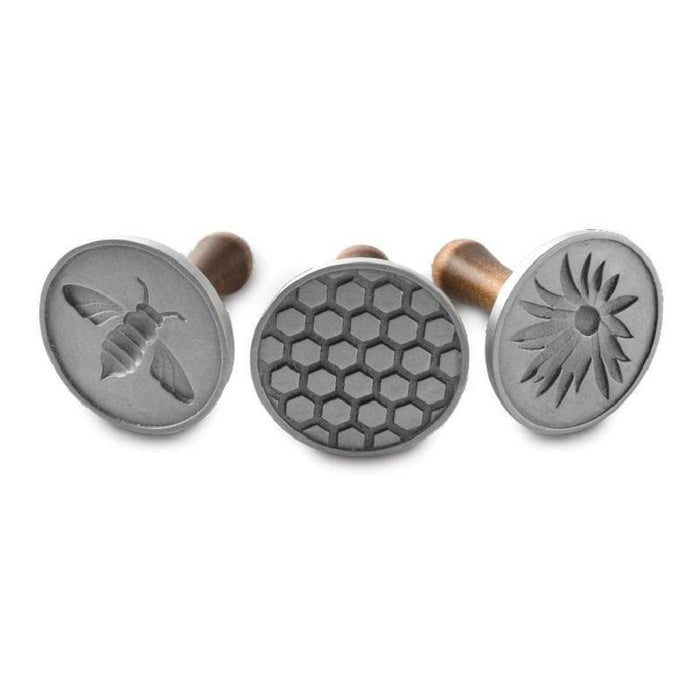Nordic Ware Honeybee Cookie Stamps - Faraday's Kitchen Store