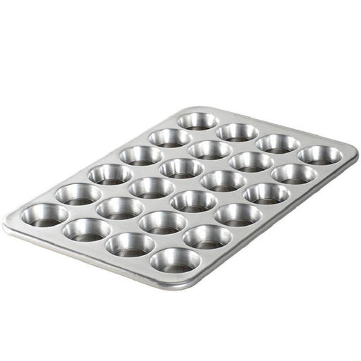 Nordic Ware Naturals Aluminum Mini Muffin Pan - Faraday's Kitchen Store