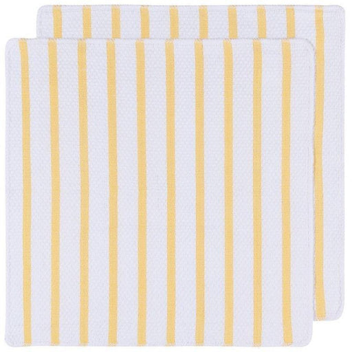 Now Designs Lemon Basketweave Dishcloths - Faraday's Kitchen Store