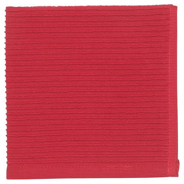 Now Designs Red Ripple Dishcloth - Faraday's Kitchen Store