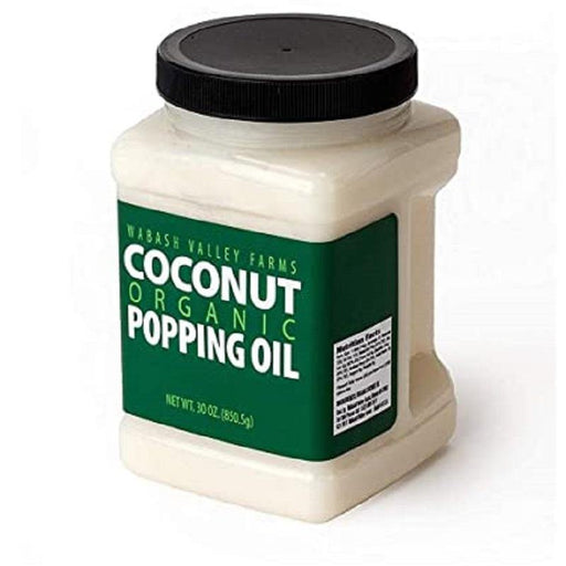 Organic Coconut Popping Oil - Faraday's Kitchen Store