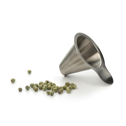 RSVP Stainless Steel Peppercorn Funnel - Faraday's Kitchen Store