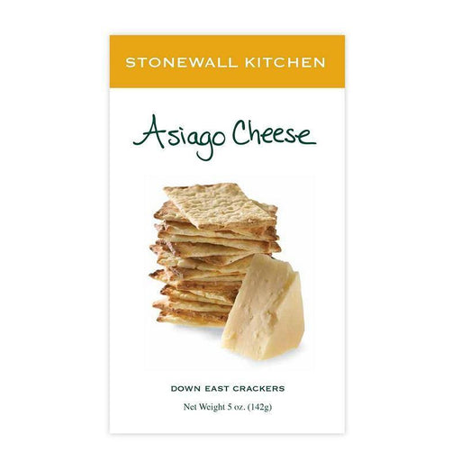 Stonewall Kitchen Asiago Cheese Crackers - Faraday's Kitchen Store