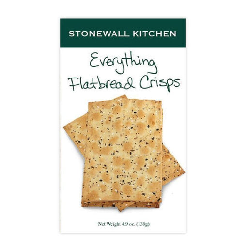 Stonewall Kitchen Everything Flatbread Crisps - Faraday's Kitchen Store
