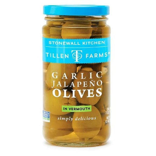 Stonewall Kitchen Garlic Jalapeno Olives - Faraday's Kitchen Store