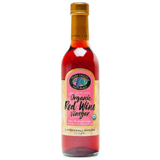 Stonewall Kitchen Organic Red Wine Vinegar 12.7 FL OZ - Faraday's Kitchen Store