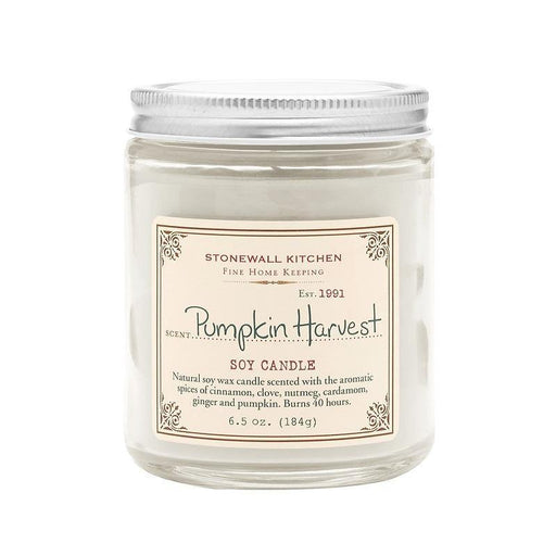Stonewall Kitchen Pumpkin Harvest Soy Candle - Faraday's Kitchen Store