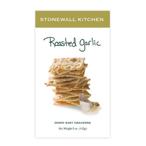 Stonewall Kitchen Roasted Garlic Crackers - Faraday's Kitchen Store
