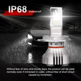72W Led Auto Headlight 12000LM Kit LED H11 Cree technology chips